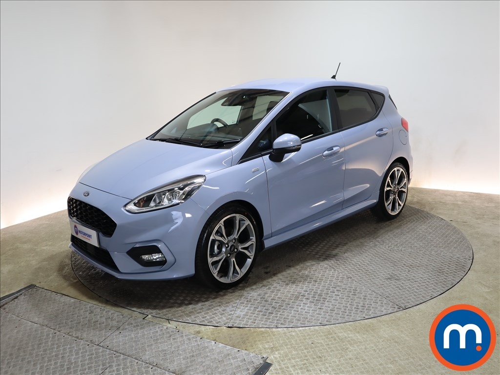 Ford Fiesta 1.0 EcoBoost 125 ST-Line X Edn 5dr Auto [7 Speed] - Stock Number 1167486 Passenger side front corner