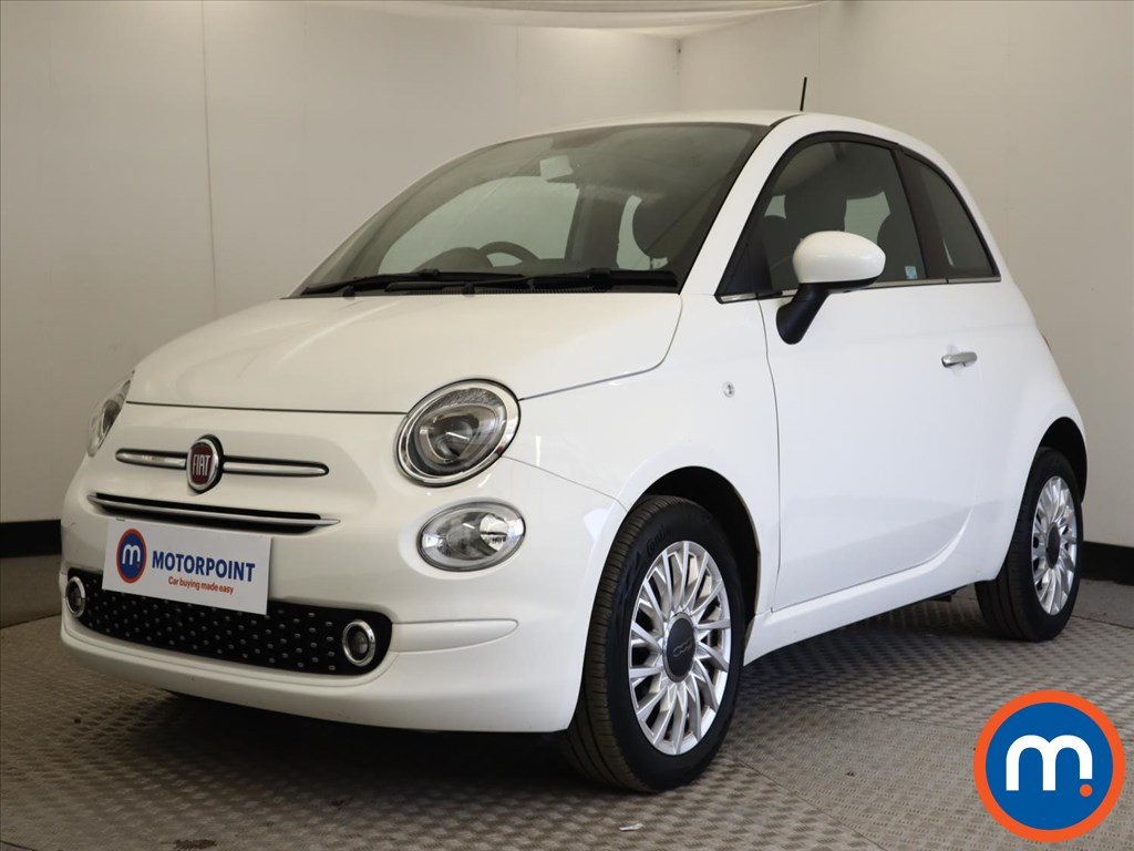 Fiat 500 1.2 Lounge 3dr Dualogic - Stock Number 1164963 Passenger side front corner