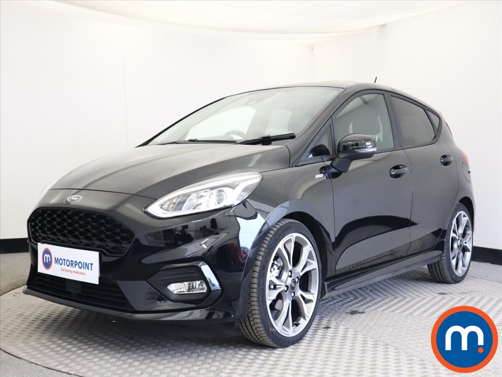 Ford Fiesta 1.0 EcoBoost 125 ST-Line X Edn 5dr Auto [7 Speed] - Stock Number 1168097 Passenger side front corner