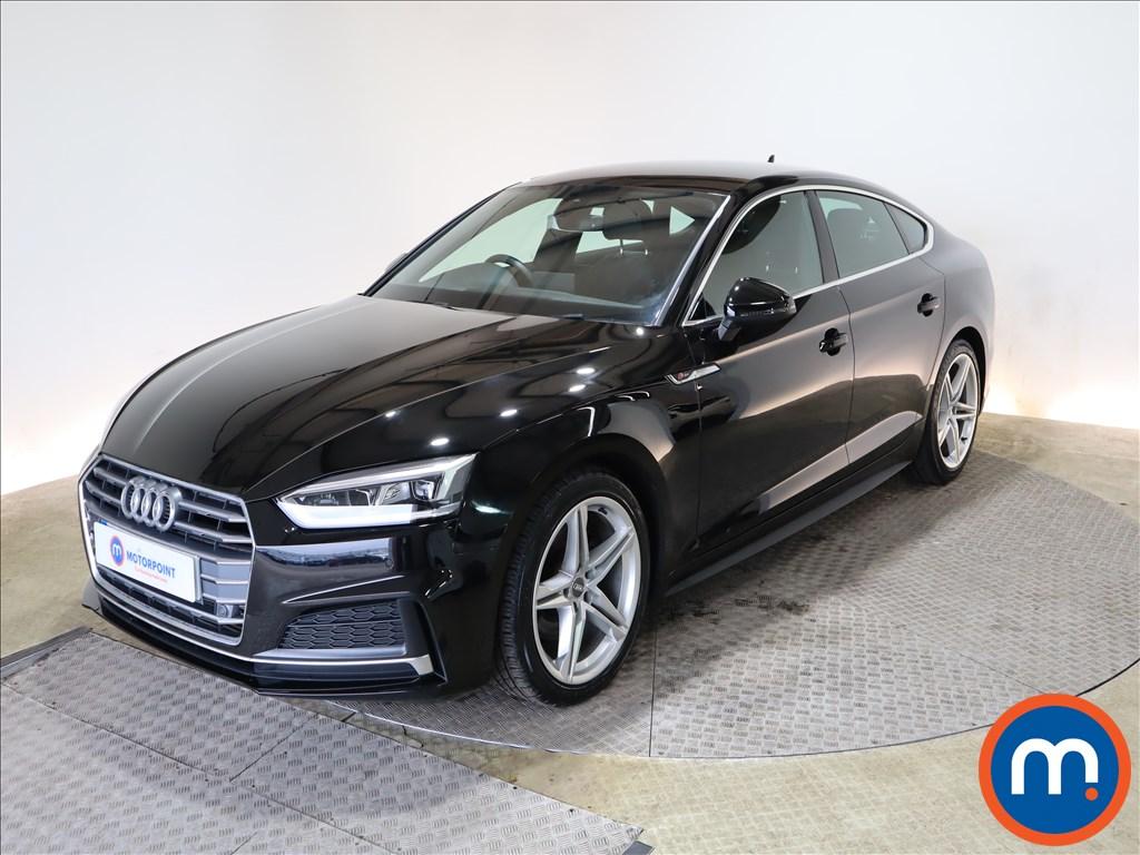 Audi A5 2.0 TFSI S Line 5dr S Tronic - Stock Number 1166922 Passenger side front corner