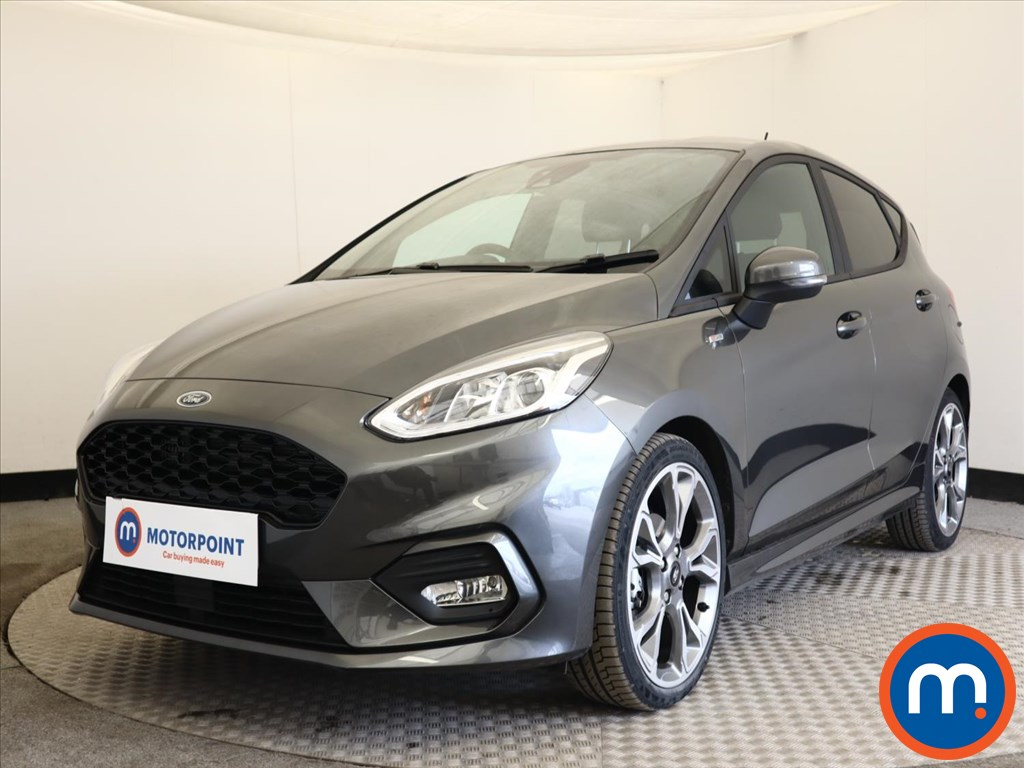 Ford Fiesta 1.0 EcoBoost 125 ST-Line X Edn 5dr Auto [7 Speed] - Stock Number 1168045 Passenger side front corner