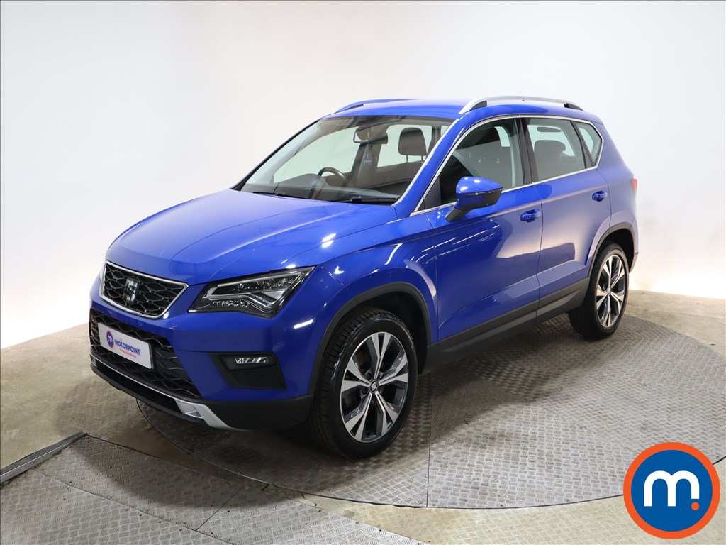 Seat Ateca 1.6 TDI Ecomotive SE Technology 5dr - Stock Number 1165818 Passenger side front corner