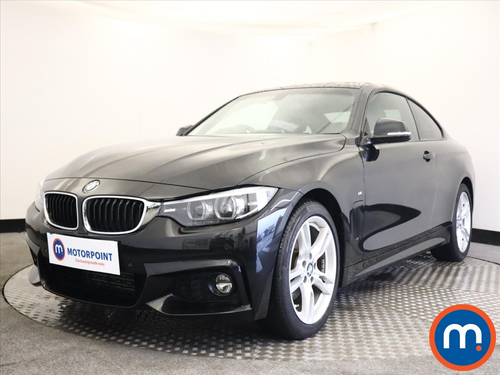 BMW 4 Series 420d [190] M Sport 2dr Auto [Professional Media] - Stock Number 1165647 Passenger side front corner