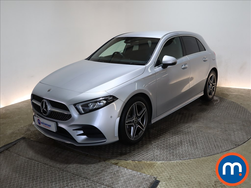 Mercedes-Benz A Class A180 AMG Line Executive 5dr - Stock Number 1167673 Passenger side front corner