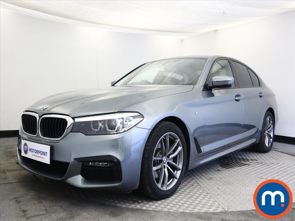 BMW 5 Series 520d M Sport 4dr Auto - Stock Number 1168022 Passenger side front corner