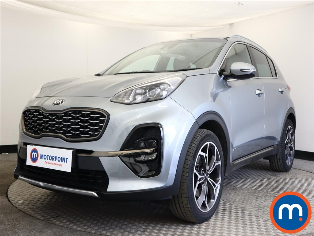 KIA Sportage 1.6T GDi ISG GT-Line 5dr DCT Auto [AWD] - Stock Number 1168540 Passenger side front corner