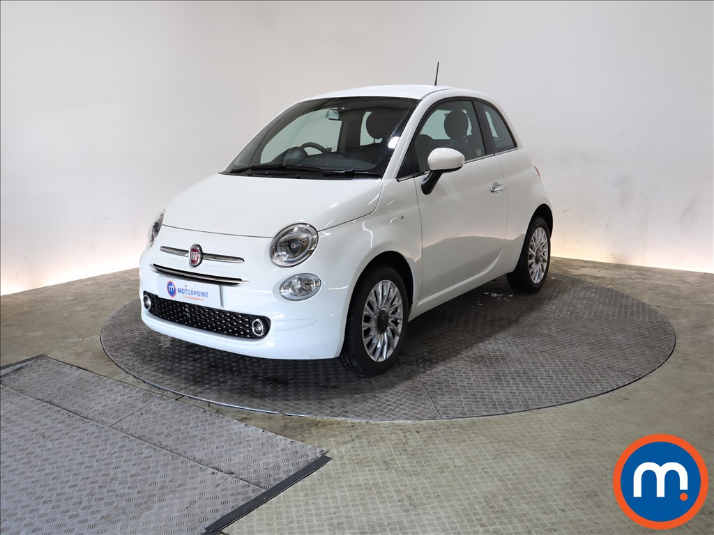 Fiat 500 1.2 Lounge 3dr Dualogic - Stock Number 1164964 Passenger side front corner