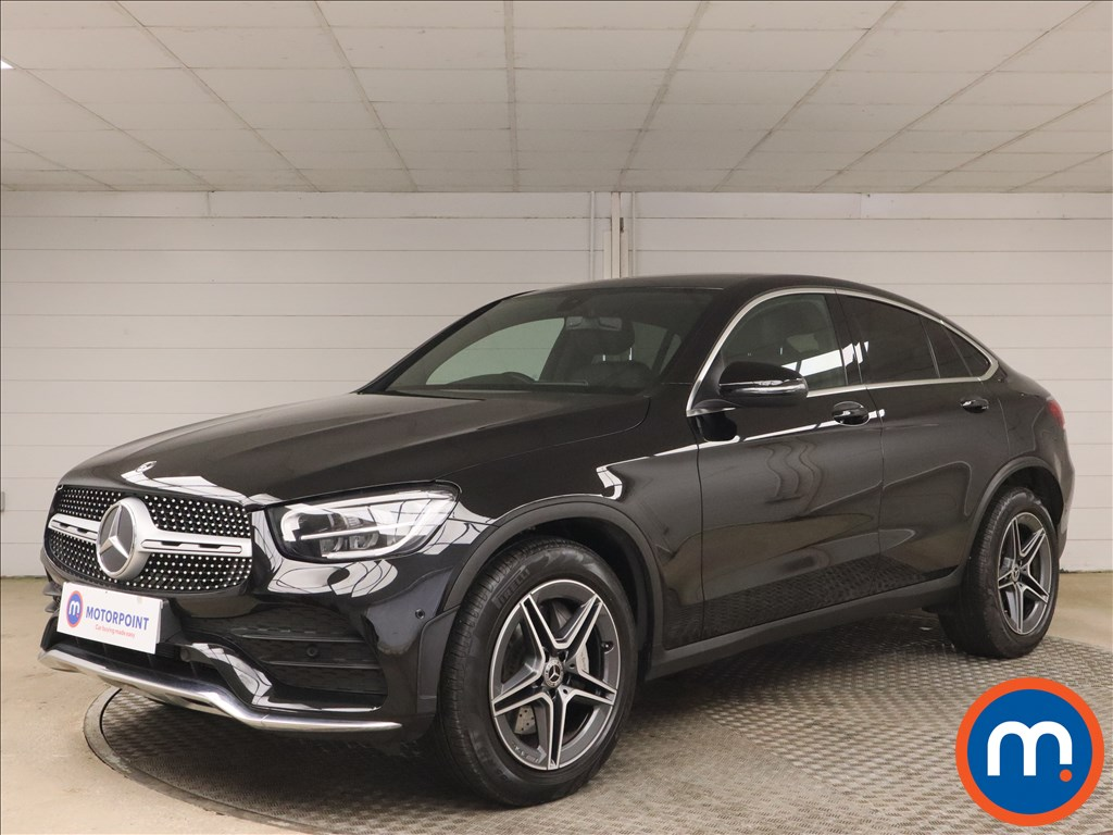 Mercedes-Benz Glc Coupe GLC 300 4Matic AMG Line 5dr 9G-Tronic - Stock Number 1171172 Passenger side front corner
