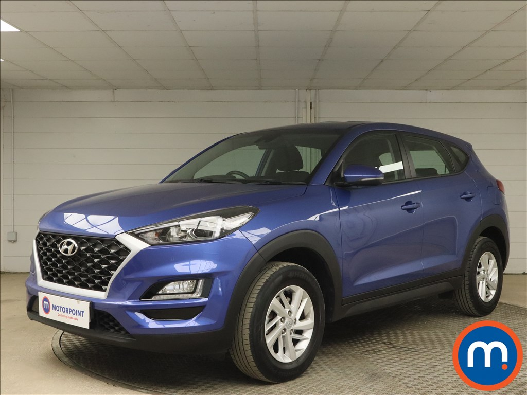 Hyundai Tucson 1.6 GDi S Connect 5dr 2WD - Stock Number 1168676 Passenger side front corner