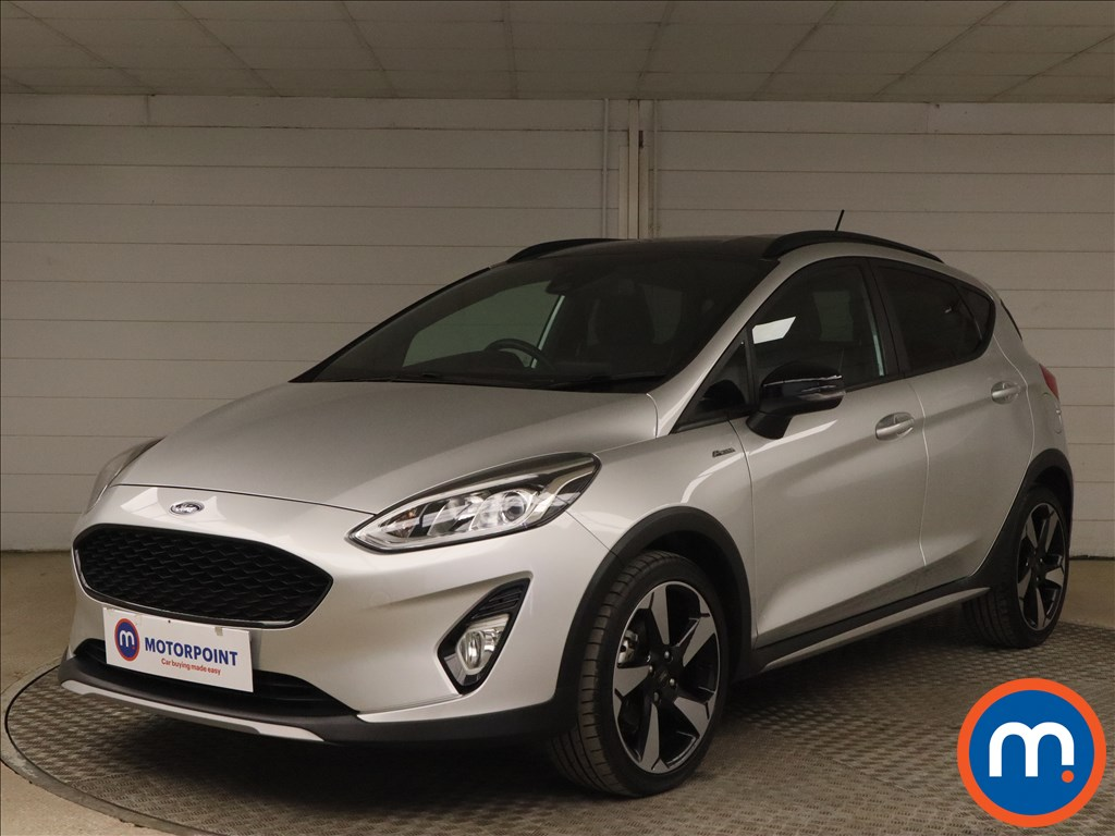 Ford Fiesta 1.0 EcoBoost Active B-PlusO Play 5dr - Stock Number 1171946 Passenger side front corner