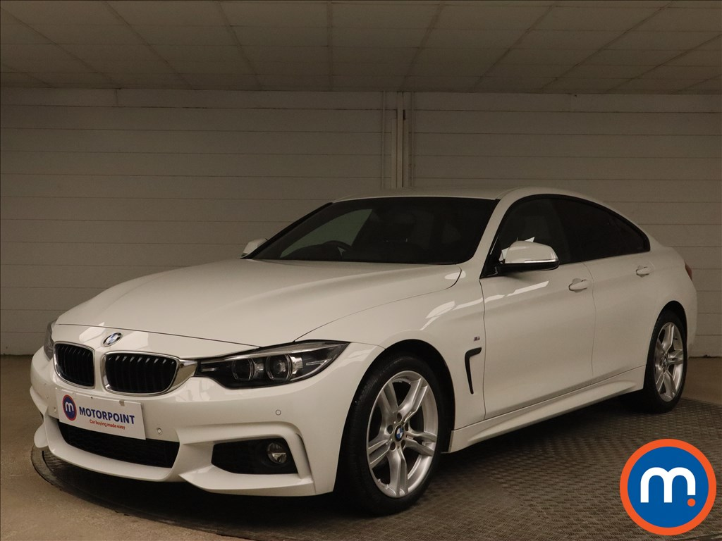 BMW 4 Series 420d [190] M Sport 5dr Auto [Professional Media] - Stock Number 1171252 Passenger side front corner