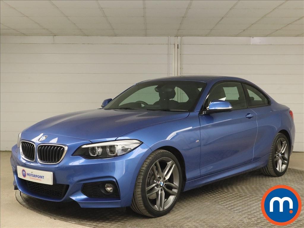 BMW 2 Series 220d M Sport 2dr [Nav] - Stock Number 1171263 Passenger side front corner