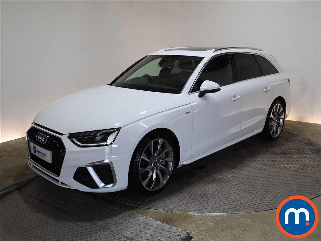 Audi A4 45 TFSI Quattro S Line 5dr S Tronic [C-PlusS] - Stock Number 1171290 Passenger side front corner