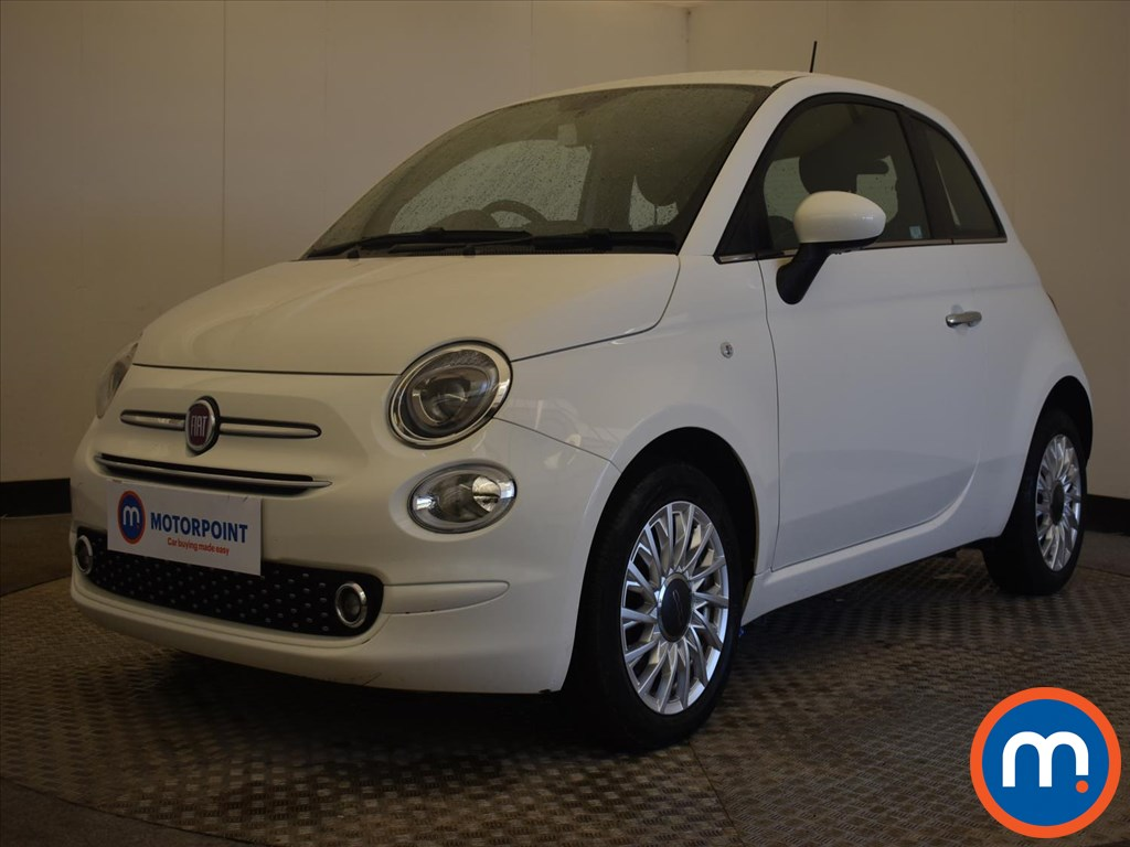 Fiat 500 1.2 Lounge 3dr - Stock Number 1170438 Passenger side front corner