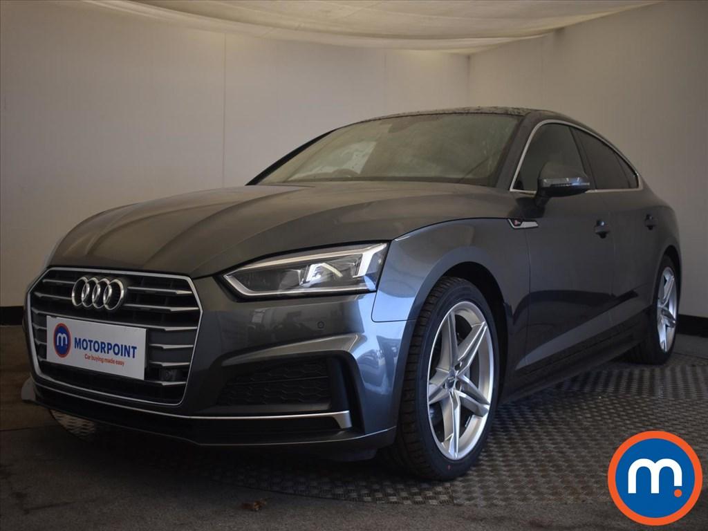 Audi A5 2.0 TDI S Line 5dr [Tech Pack] - Stock Number 1169926 Passenger side front corner