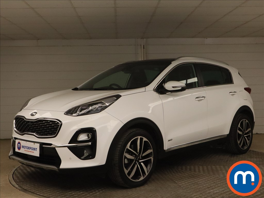 KIA Sportage 1.6T GDi ISG 4 5dr DCT Auto [AWD] - Stock Number 1171870 Passenger side front corner