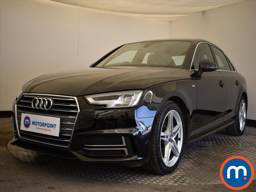 Audi A4 1.4T FSI S Line 4dr [Leather-Alc] - Stock Number 1169966 Passenger side front corner