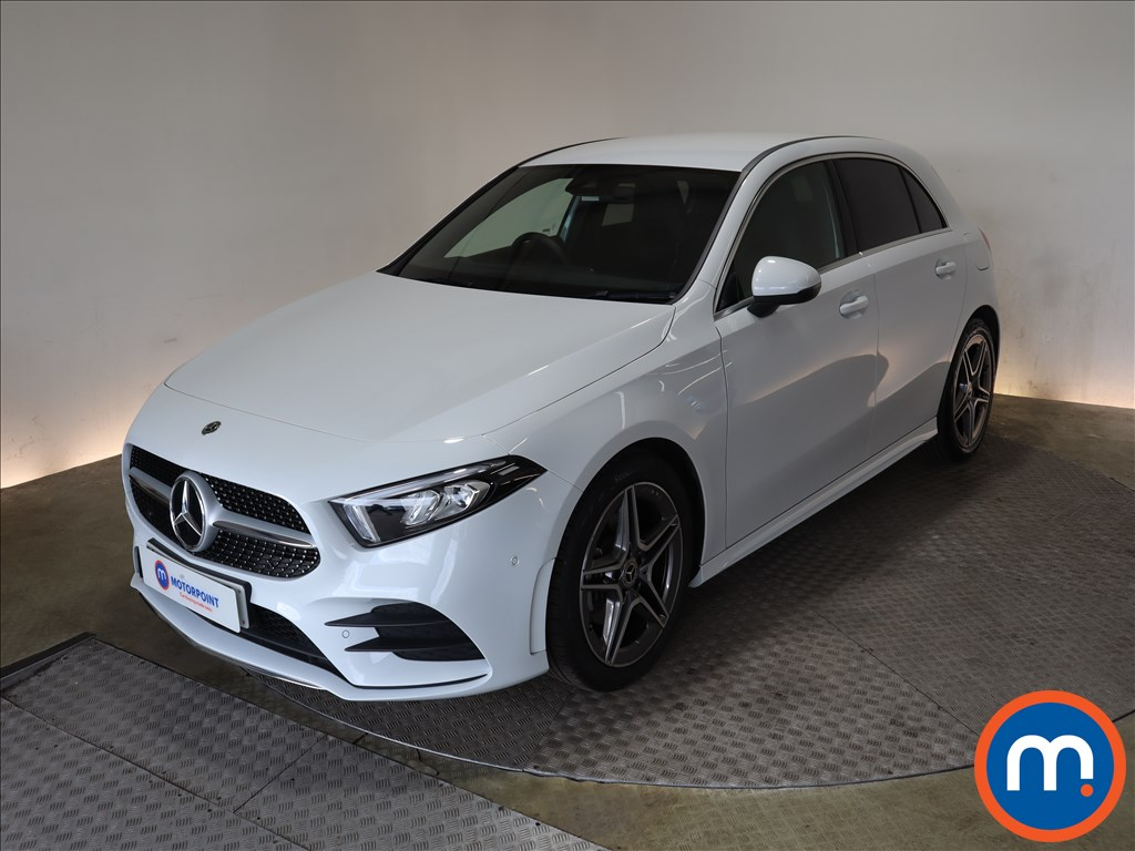Mercedes-Benz A Class A200 AMG Line Executive 5dr Auto - Stock Number 1170223 Passenger side front corner