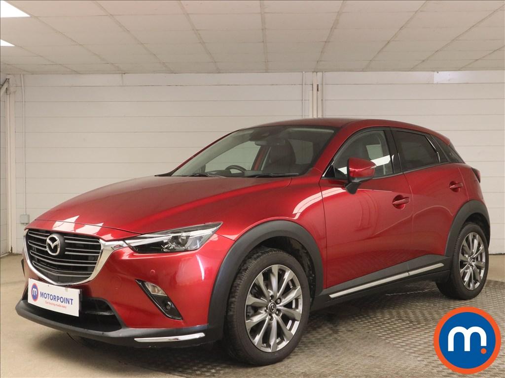 Mazda Cx-3 2.0 Sport Nav -Plus 5dr Auto - Stock Number 1143668 Passenger side front corner