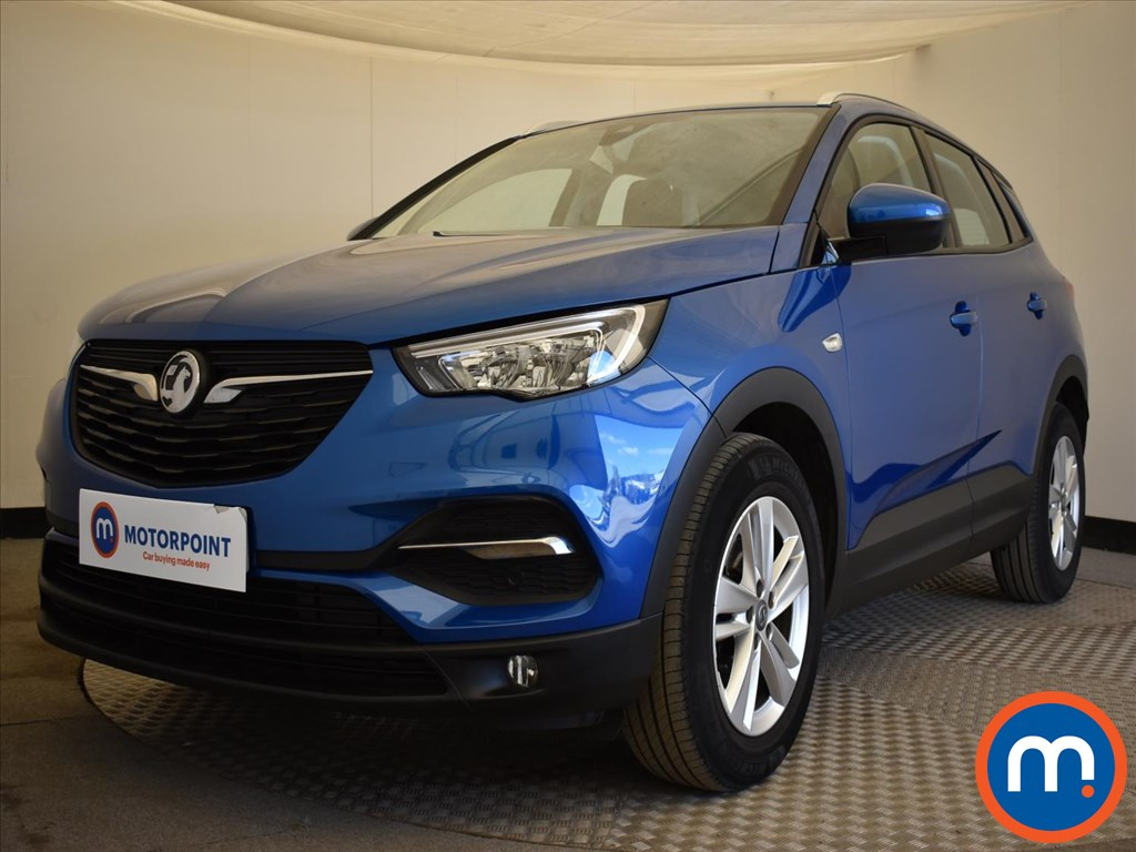 Vauxhall Grandland X 1.2 Turbo SE 5dr Auto [8 Speed] - Stock Number 1171796 Passenger side front corner