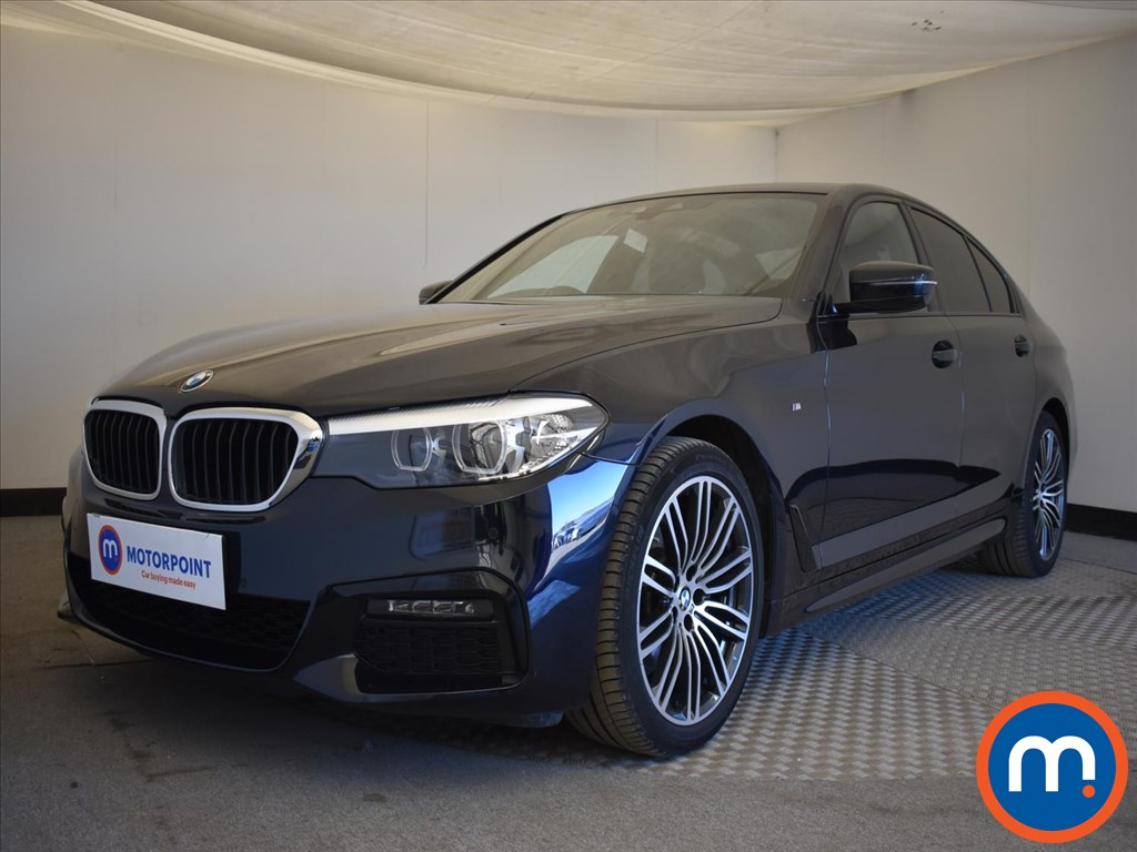 BMW 5 Series 520d xDrive M Sport 4dr Auto - Stock Number 1174706 Passenger side front corner