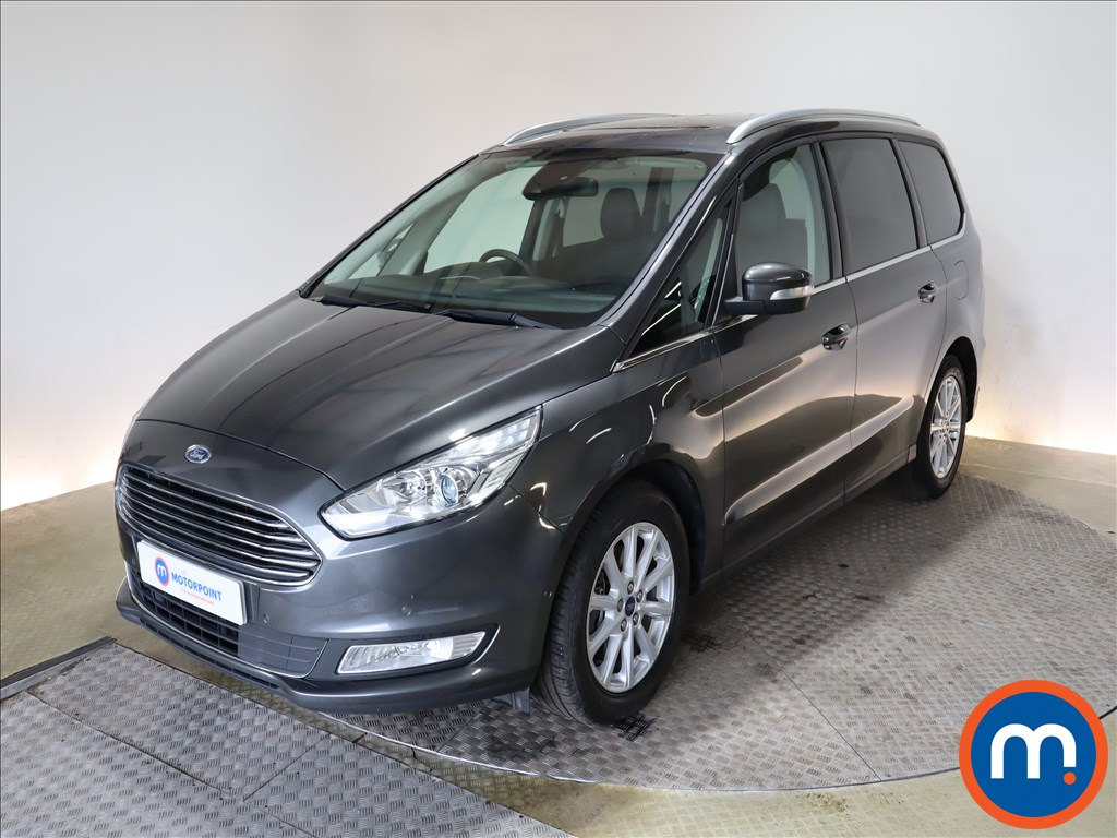 Ford Galaxy 2.0 EcoBlue 150 Titanium X 5dr - Stock Number 1171303 Passenger side front corner