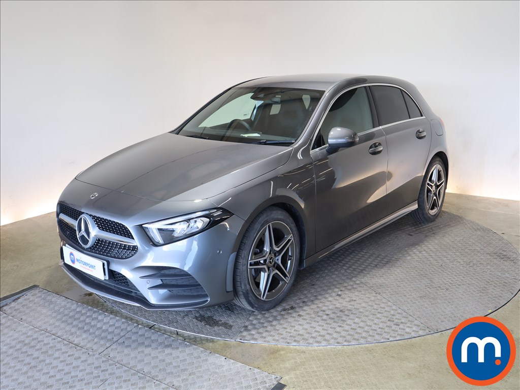 Mercedes-Benz A Class A180 AMG Line Executive 5dr Auto - Stock Number 1170241 Passenger side front corner