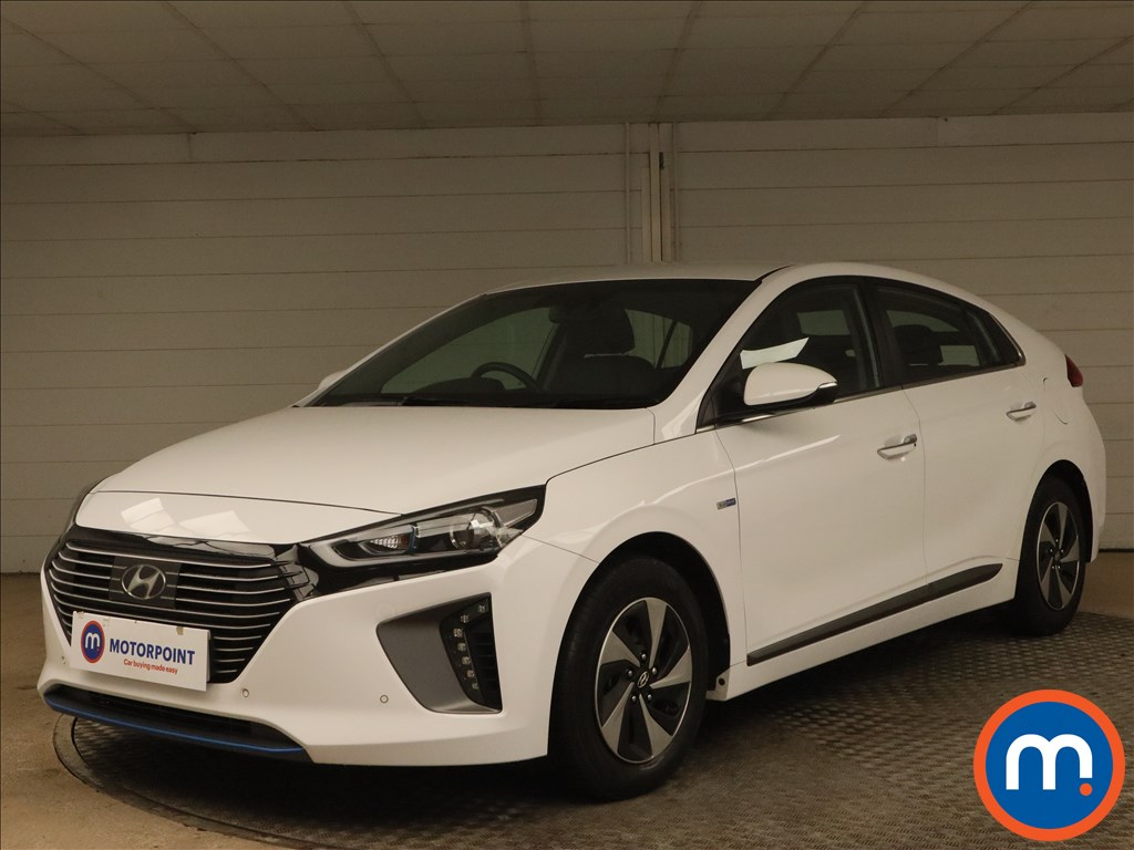 Hyundai Ioniq 1.6 GDi Hybrid Premium SE 5dr DCT - Stock Number 1175118 Passenger side front corner