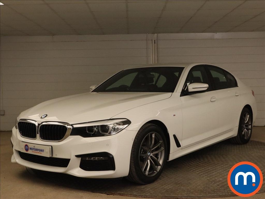 BMW 5 Series 520d xDrive M Sport 4dr Auto - Stock Number 1175054 Passenger side front corner