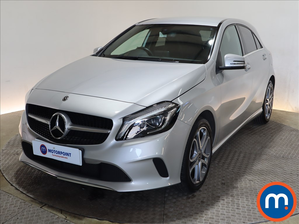 Mercedes-Benz A Class A180 Sport Edition 5dr Auto - Stock Number 1175869 Passenger side front corner