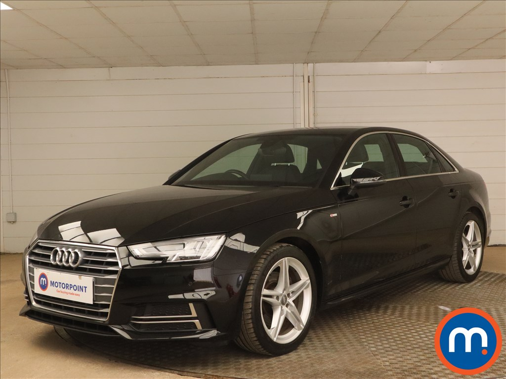 Audi A4 1.4T FSI S Line 4dr [Leather-Alc] - Stock Number 1173704 Passenger side front corner