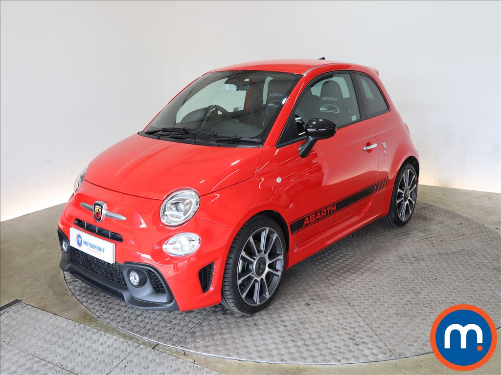 Abarth 595 1.4 T-Jet 165 Turismo 70th Anniversary 3dr - Stock Number 1158049 Passenger side front corner