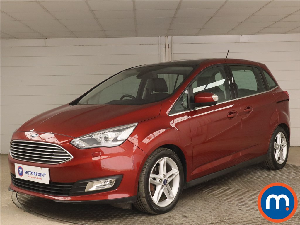 Ford Grand C-Max 1.5 TDCi Titanium X 5dr - Stock Number 1176844 Passenger side front corner