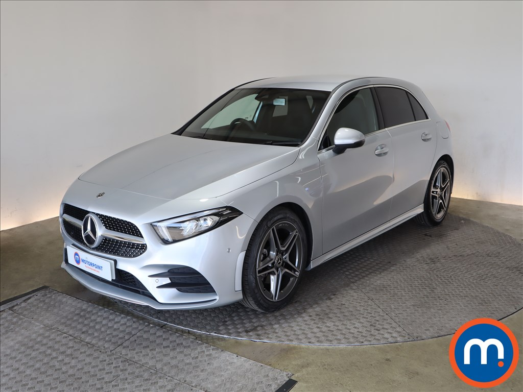 Mercedes-Benz A Class A180d AMG Line Executive 5dr Auto - Stock Number 1176316 Passenger side front corner