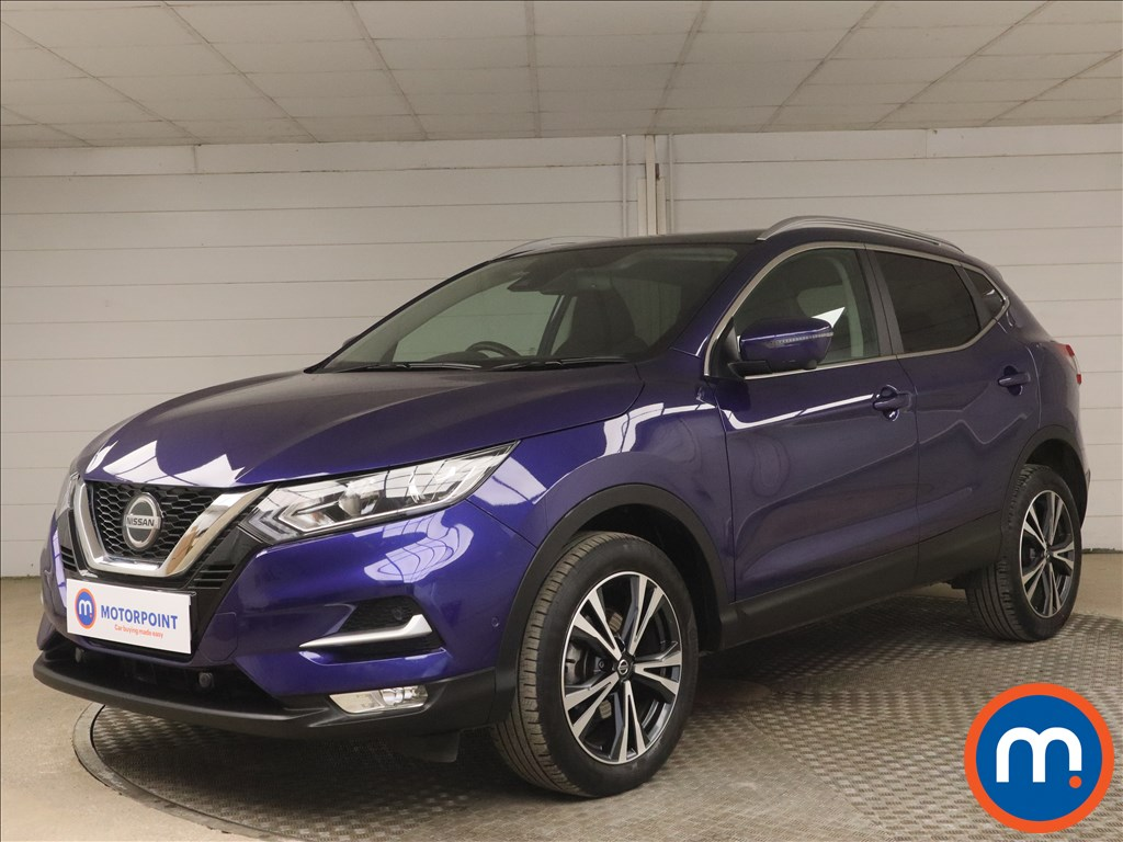 Nissan Qashqai 1.3 DiG-T 160 N-Connecta 5dr [Glass Roof Pack] - Stock Number 1178105 Passenger side front corner