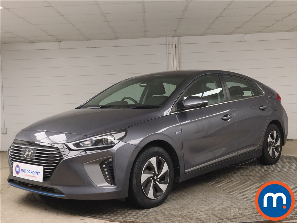 Hyundai Ioniq 1.6 GDi Hybrid Premium SE 5dr DCT - Stock Number 1176255 Passenger side front corner