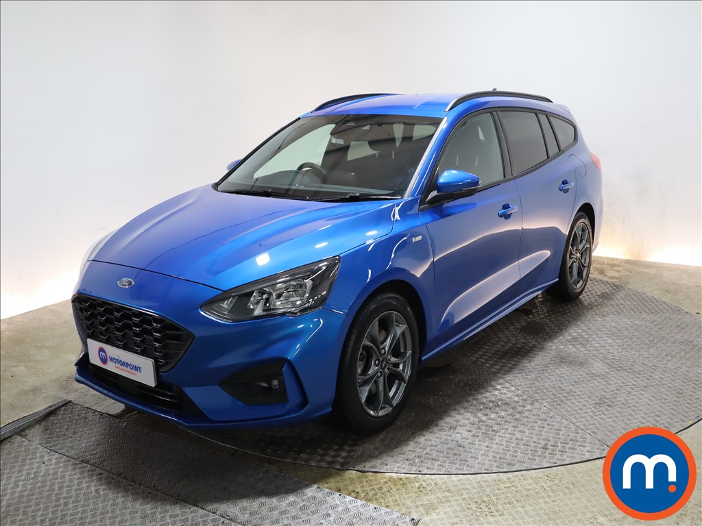 Ford Focus 1.5 EcoBlue 120 ST-Line Edition 5dr - Stock Number 1176678 Passenger side front corner