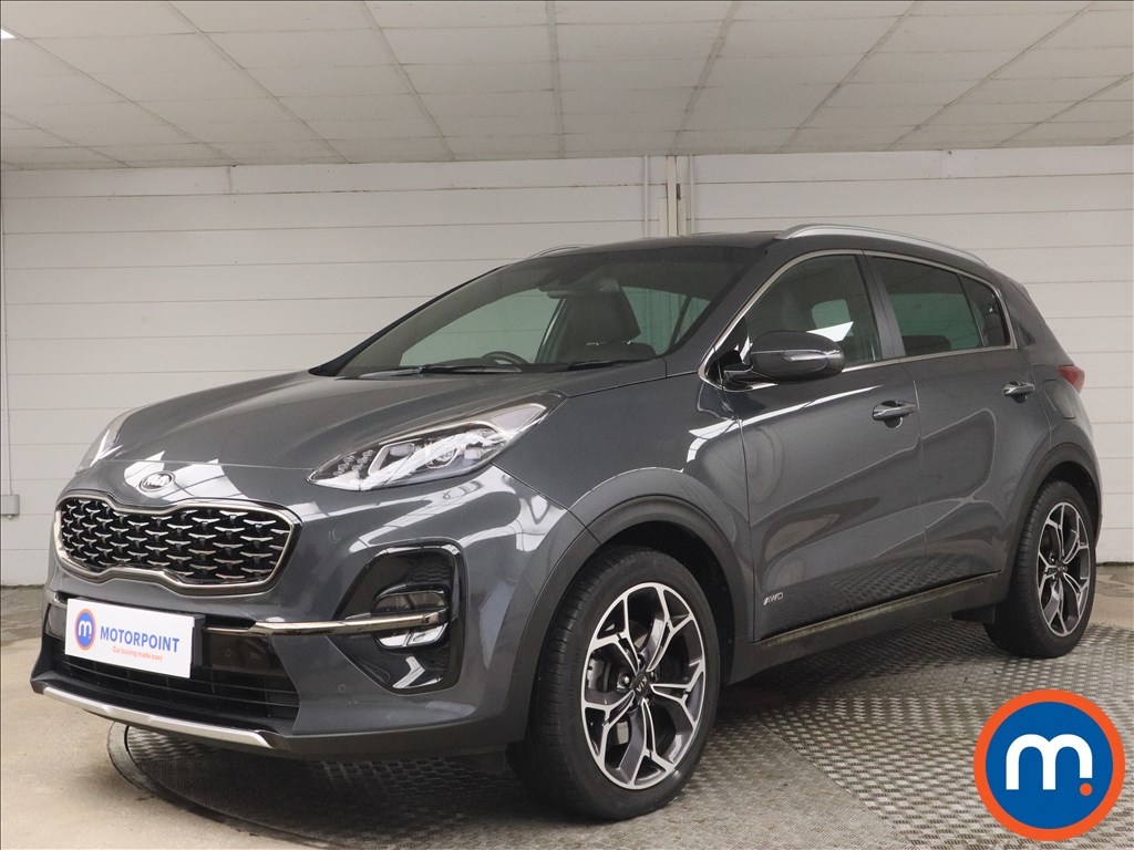 KIA Sportage 1.6T GDi ISG GT-Line 5dr DCT Auto [AWD] - Stock Number 1183429 Passenger side front corner