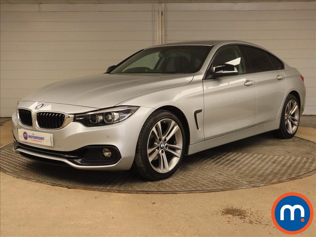 BMW 4 Series 420i Sport 5dr [Business Media] - Stock Number 1181805 Passenger side front corner