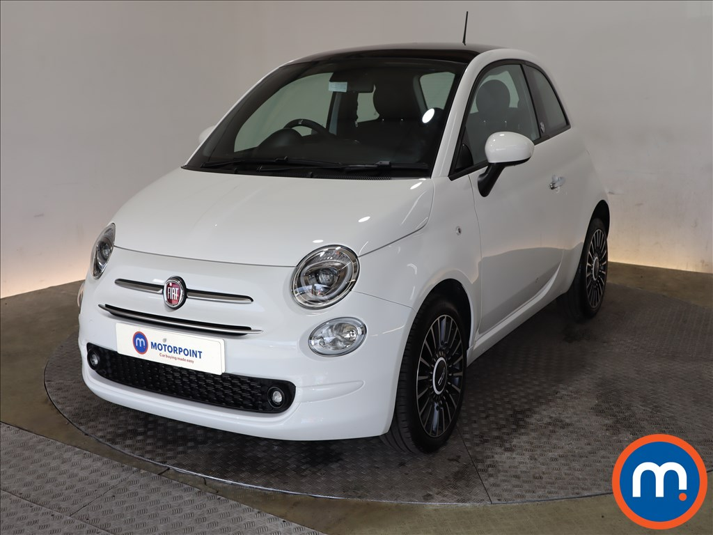 Fiat 500 1.0 Mild Hybrid Launch Edition 3dr - Stock Number 1181519 Passenger side front corner
