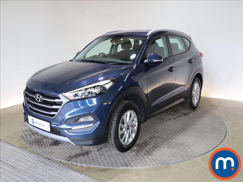 Hyundai Tucson 1.6 GDi Blue Drive SE 5dr 2WD - Stock Number 1185188 Passenger side front corner