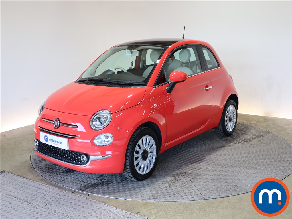Fiat 500 1.2 Lounge 3dr - Stock Number 1177954 Passenger side front corner