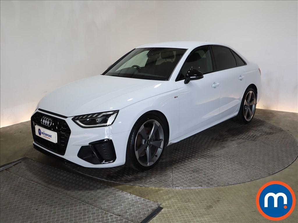 Audi A4 35 TFSI Black Edition 4dr - Stock Number 1179980 Passenger side front corner
