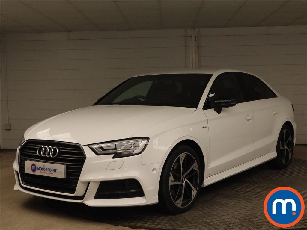 Audi A3 35 TDI Black Edition 4dr S Tronic - Stock Number 1186642 Passenger side front corner
