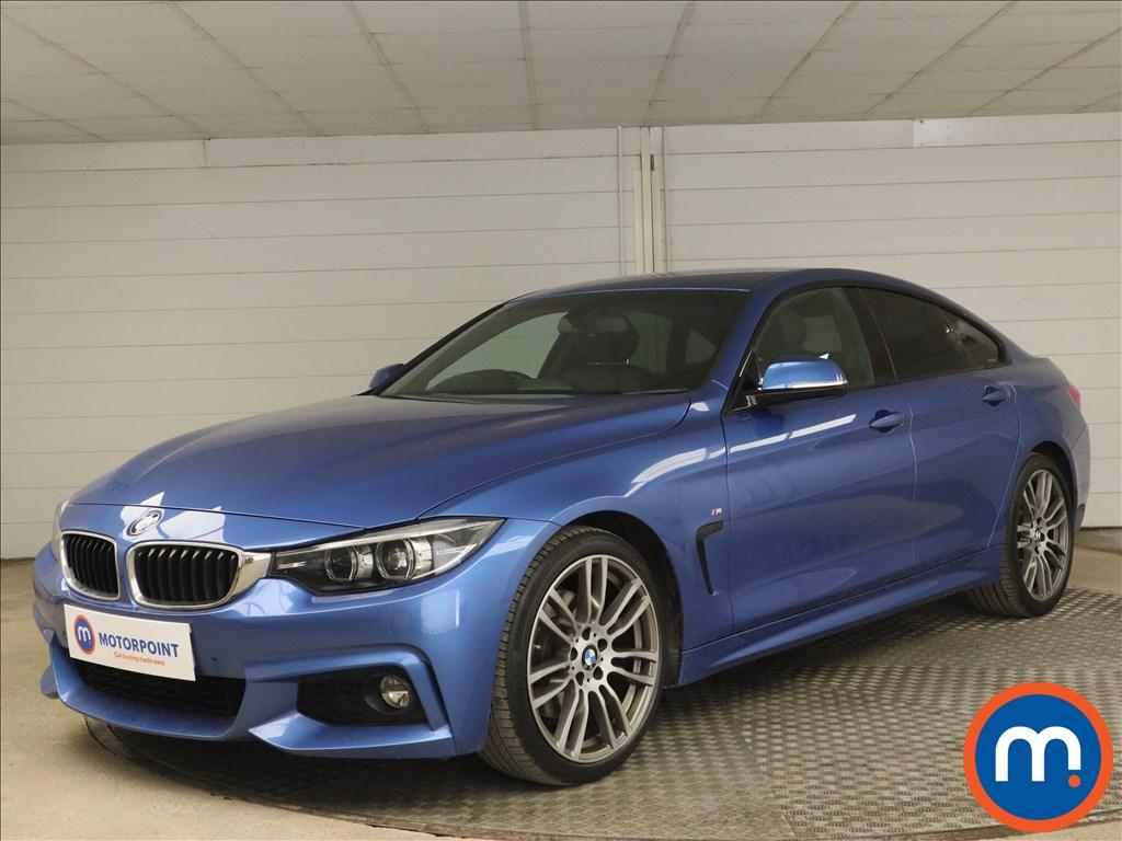 BMW 4 Series 430i M Sport 5dr Auto [Professional Media] - Stock Number 1182419 Passenger side front corner