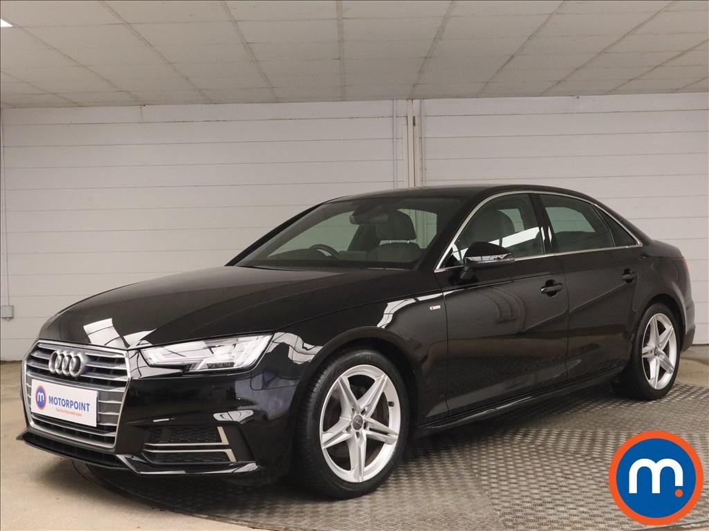 Audi A4 1.4T FSI S Line 4dr [Leather-Alc] - Stock Number 1180805 Passenger side front corner
