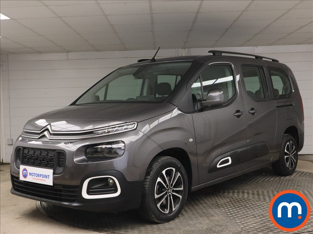 Citroen Berlingo 1.5 BlueHDi 100 Flair XL 5dr [7 seat] - Stock Number 1183562 Passenger side front corner