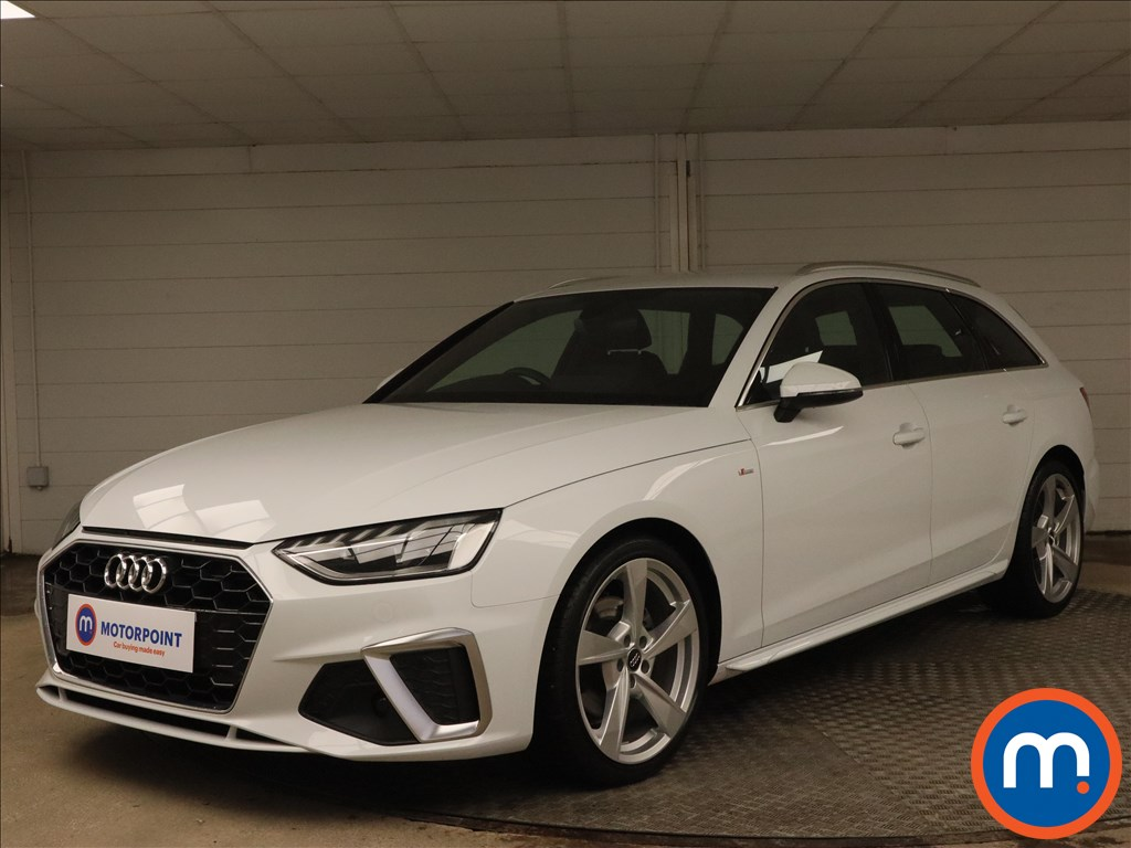 Audi A4 30 TDI S Line 5dr S Tronic - Stock Number 1183421 Passenger side front corner