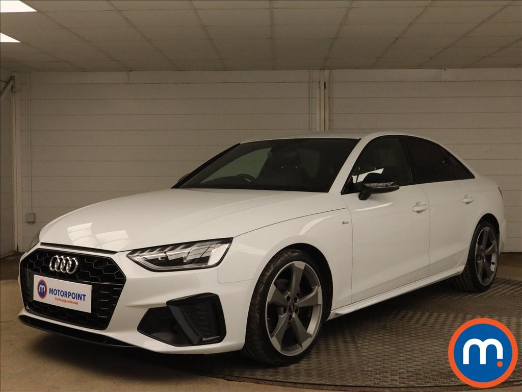 Audi A4 35 TFSI Black Edition 4dr - Stock Number 1179993 Passenger side front corner