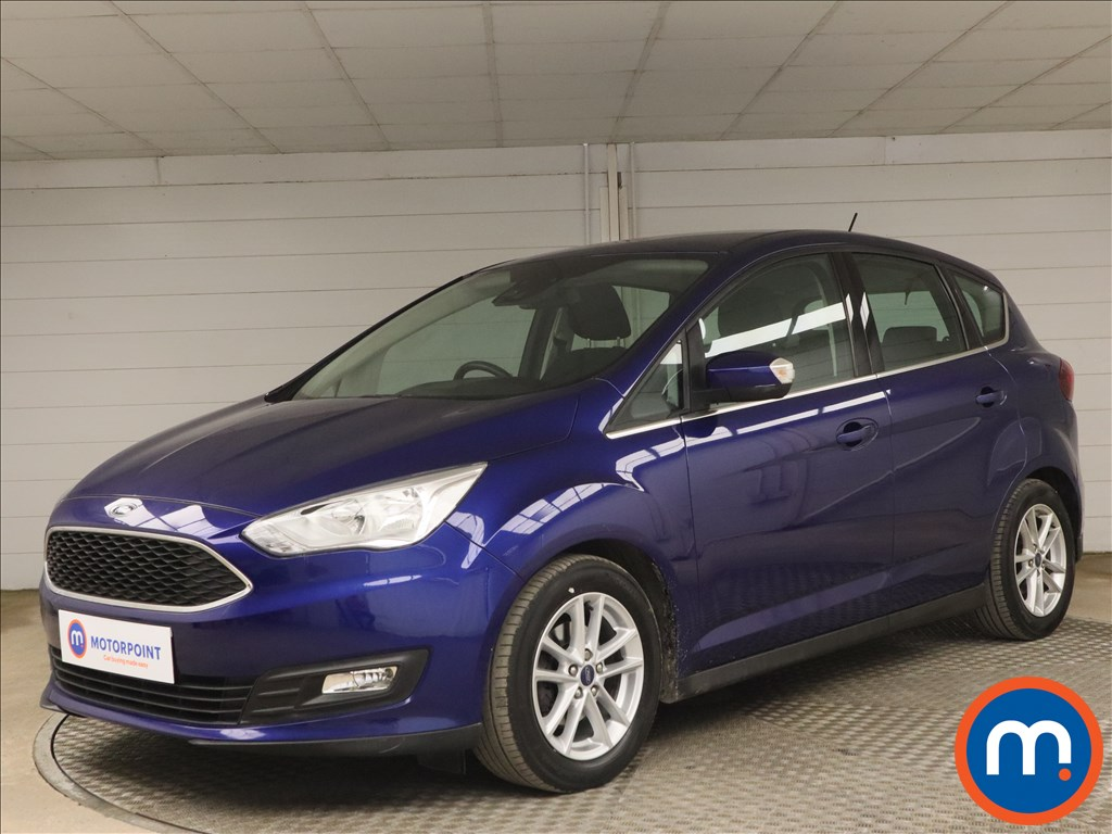 Ford C-Max 1.6 125 Zetec Navigation 5dr - Stock Number 1176258 Passenger side front corner